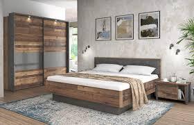 schlafzimmer set clif binou 220 optik wood vintage forte