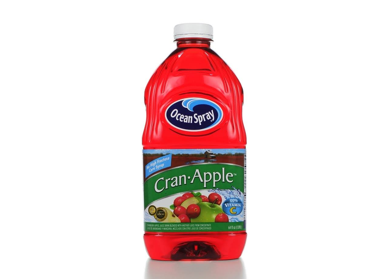 Ocean Spray Juice Drink - Cranberry & Apple, 64oz