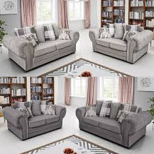100 2 Sofa Living Room Details About Set 3 DUKE B Luxury Settee Couch Suite Fire Resistant