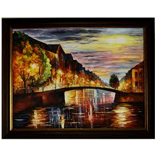 Reflections Knife Art Oil Canvas Painting Antikcart