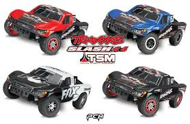 100 Traxxas Trucks TRAXXAS 110 SLASH 4x4 Brushless Short Course Racing Truck 4WD TSM