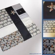 sur commande tapis d éveil pour bébé bleu marine gris argent