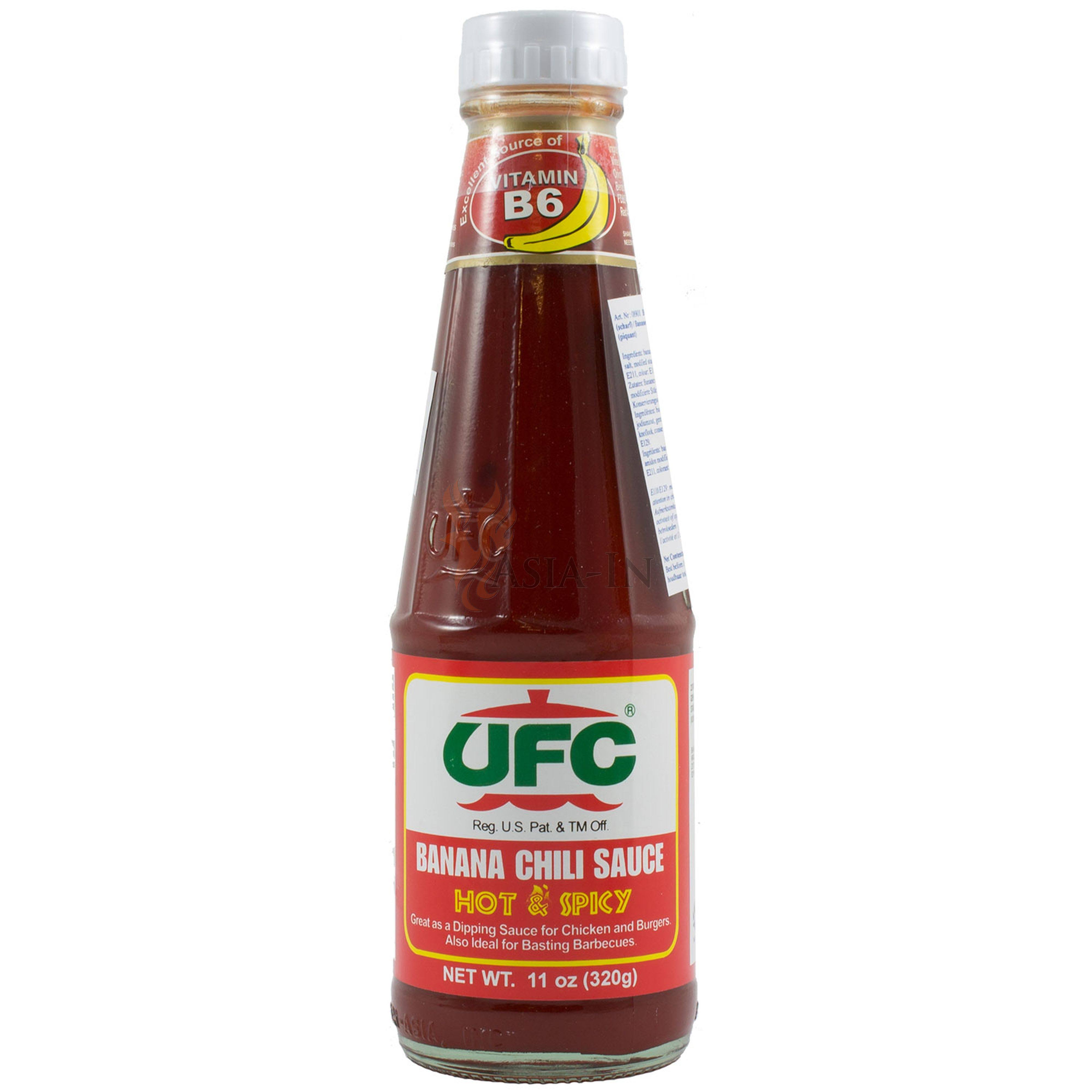 UFC hot and Spicy Banana Sauce - 320g