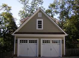 Beautiful 2 car garage with matching shed Read more about this