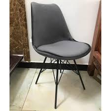 schalenstuhl samt grau esstisch stuhl esszimmerstuhl