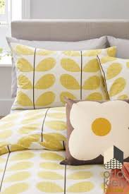 This Orla Kiely bedding is the perfect way of incorporating retro