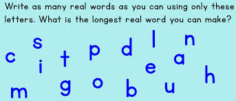 What Words Can Be Made With These Letters