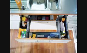 accessoire tiroir cuisine tiroirs de rangement sous évier rangement pour armoires de cuisine