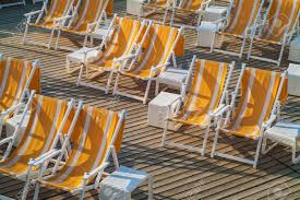 Empty Orange White Striped Folding Beach Chairs On A Wooden Deck Best Promo 20 Off Portable Beach Chair Simple Wooden Solid Wood Bedroom Chaise Lounge Chairs Wooden Folding Old Tired Image Photo Free Trial Bigstock Gardeon Outdoor Chairs Table Set Folding Adirondack Lounge Plans Diy Projects In 20 Deckchair Or Beach Chair Stock Classic Purple And Pink Plan Silla Playera Woodworking Plans 112 Dollhouse Foldable Blue Stripe Miniature Accessory Gift Stock Image Of Design Deckchair Garden Seaside Deck Mid