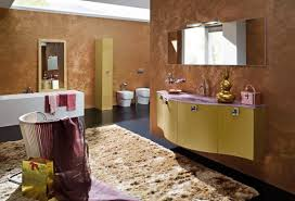 Burgundy Coloured Bathroom Accessories by 50 Modern Bathrooms