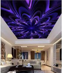 benutzerdefinierte tapetenwandbilder abstrakte fantasie blumen wohnzimmer schlafzimmer decke wand dekoration 3d tapete decke