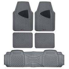 Semi Custom Van Truck Floor Mats 3 Rows Gray Heavy Duty All ... Floor Liners Mats Nelson Truck Uncategorized Autozone Thrilling Jeep Car Guidepecheaveyroncom Metallic Rubber Pink For Suv Black Trim To Motor Trend Hd Ecofree Van W Cargo Liner Gmc Sierra Ebay Amazoncom Weathertech Custom Fit Rear Floorliner Ford F250 Antique From Walmarttruck Made Bdk 1piece Ridged And