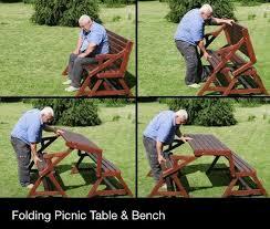 folding bench picnic table plans free pdf plans double bunk bed