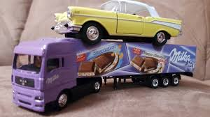 Amazing Milka Toy Truck Very Beautiful And Super Welly Car Video For ... Toy Trucks Videos Of Garbage Mighty Machines Remote Control Cstruction Truck For Children Bulldozer Launches Ferry Video Dailymotion Mediatown 360 A Great Yellow Dump Round Reviews Cars Mack And Lightning Mcqueen Play Car Toy Videos For Kids Tow Youtube Rc Unboxing Fire Tractor Police Truck Children Die Cast Toys Automobile Miniature