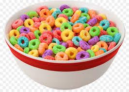 Breakfast Cereal Froot Loops Bowl Flavor Fruit