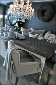 My DYI Dining Room Table Inspiration Dark Walls Neutrals Cozy Furniture Rustic Elements With A Touch Of Glam