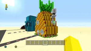 Minecraft - Spongebob Squarepants | Spongebob's Pineapple House Tour!