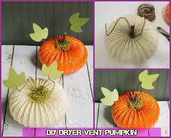 Dryer Vent Pumpkins Tutorial by Diy Alternative Pumpkin Craft Ideas That Are Not Real Pumpkins