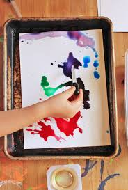 Easy Art Projects For Kids Watercolors Oil