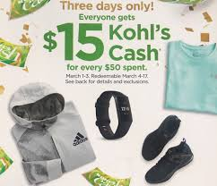 Three Days Only: Get $15 Kohl's Cash For Every $48 You Spend Kohls Mystery Coupon Up To 40 Off Saving Dollars Sense Free Shipping Code No Minimum August 2018 Store Deals Pin On 30 Code 10 Off Coupon Discover Card Goodlife Recipe Cat Food Current Codes Rules Coupons With 100s Of Exclusions Questioned Three Days Only Get 15 Cash For Every 48 You Spend Coupons Bradsdeals Publix Printable 27 The Best Secrets Shopping At Money Steer Clear Scam Offering 150 Black Friday From Kohls Eve Organics