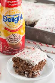 Peppermint Mocha Tres Leches Cake Crazy for Crust