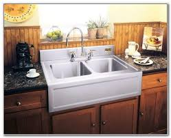 drop in apron front kitchen sink sinks and faucets home design