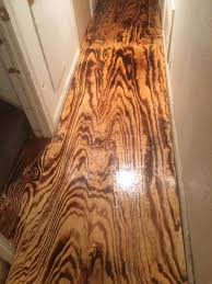 Pros Burnt Plywood Flooring — Creative Home Decoration