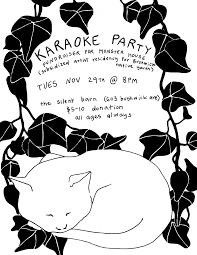 Karaoke Party Fundraiser For Monster House -- Silent Barn Scolhouse Screaming Females At The Silent Barn March 6 Walter Cristy Road Shira Mallrat Record Release April Mei Best Nyc Radio Stations Running Out Of Galleries And Diy Spaces Puerto Rico Fundraiser Ava Mendoza Brandon Lopez Spic Brooklyn Utopia One Structure To Sustain You Selena Lives On And More Art Openings Bushwick Project For The Arts Pinact Living Hour Tickets Ny Skin In City A New Game Medium