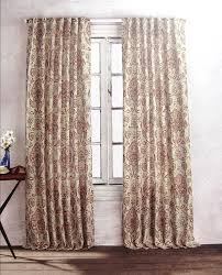 Jacobean Style Floral Curtains by Amazon Com Cynthia Rowley Alina Jacobean Flowers Paisley Scrolls