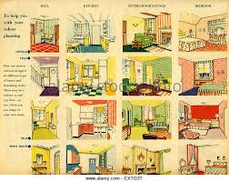 House Decorating Magazines Uk by 1950s Uk Home Decorating Magazine Stock Photos U0026 1950s Uk Home