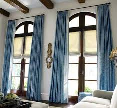 impressive blue curtains for living room ideas with living room