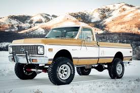 Absolutely Perfect 1972 Chevy Truck 4x4. This Is What I Am Aiming ...