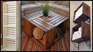 Amusing Repurposed Wooden Crates 12 In Interior Decor Design With