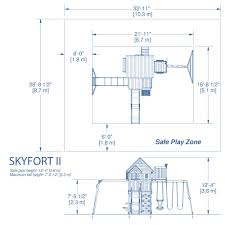 Skyfort II Wooden Swing Set   Wooden Swings, Clubhouses And Forts 84 Best Swing Setsfort Images On Pinterest Children Games How To Build Diy Wood Fort And Set Plans From Jacks House Treehouse For Inspiring Unique Rustic Home Backyard Discovery Prairie Ridge The Is A Full Kids Playhouseturn Our Swing Set Into This Maybe Outdoor Craftbnb Decorate Outdoor Playset Chickerson And Wickewa Offering Custom Redwood Cedar Playsets Sets Backyards Splendid Kits Pictures 25 Unique Wooden Sets Ideas Swings
