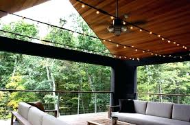 outdoor ceiling fans with lights modern outdoor ceiling fans sofrench me