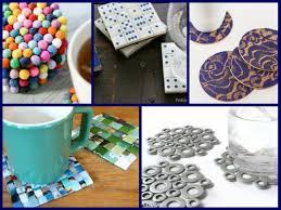30 DIY Coasters Decorating Ideas