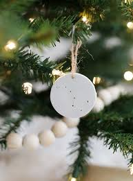 Christmas Tree Garland Wooden Beads by Minimal Christmas Tree The Merrythought