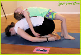 Yoga Poses With Friends