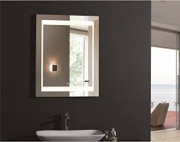skillful ideas backlit bathroom wall mirrors mirror led from for