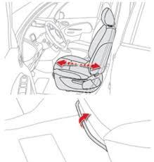 siege citroen c3 citroën c3 picasso sièges avant confort manuel du conducteur