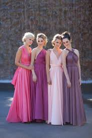 convertible multi wear dresses pink and purple dress this is