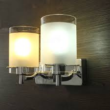 modern heads silver chrome indoor wall l lighting