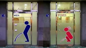 Funny Bathroom Door Art by 25 Funny Bathroom Signs Youtube