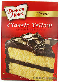 Amazon Duncan Hines Signature Yellow Cake Mix 16 5 Ounce