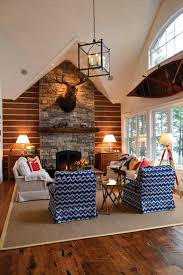 Small Funky Cottage Rustic Living Room