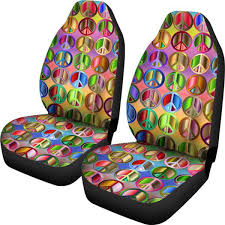 100 Seat By Design Amazoncom Muggalicious Car Covers With Colorful Hippie Peace