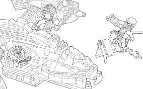 Coloriage Lego Ninjago Kai