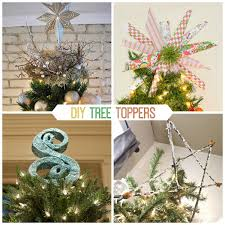 Take A Look At 9 Stunning Tree Toppers You Can Make Yourself And Click Through For Tutorials