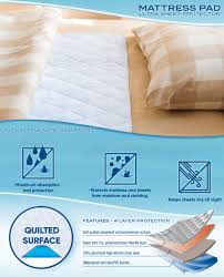 Goodnites Bed Mats by Amazon Com Pharmedoc Waterproof Reusable Bed Pad U2013 2 Pack 34