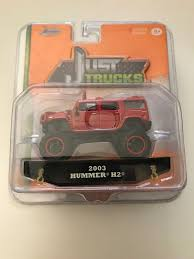 JADA TOYS JUST Trucks 2003 Hummer H2 Red - $7.99 | PicClick
